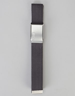Fjällräven Merano Canvas Web Belt - Dark Grey