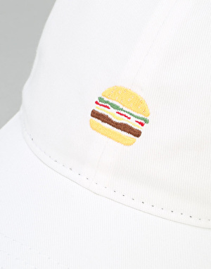 Route One Burger Cap - White