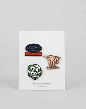 Brixton Adios Pin Pack - Multi