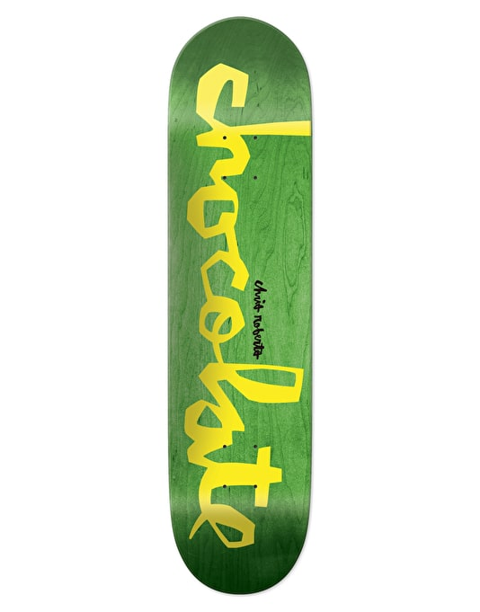 Chocolate Roberts Original Chunk Skateboard Deck - 7.75""
