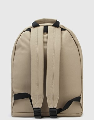 Mi-Pac Canvas Tonal Backpack - Sand/Navy