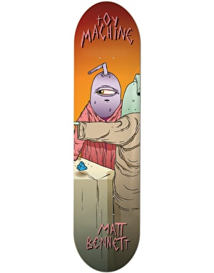 Toy Machine Bennett Last Supper Pro Deck - 8