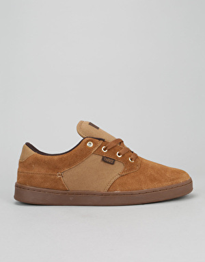 DVS Quentin Skate Shoes - Brown/Gum