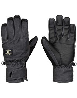 DC Seger SE 2017 Snowboard Gloves - Black