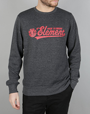 Element Signature Crew Sweatshirt - Charcoal Heather