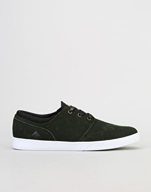 Emerica The Figueroa Skate Shoes - Green/Black