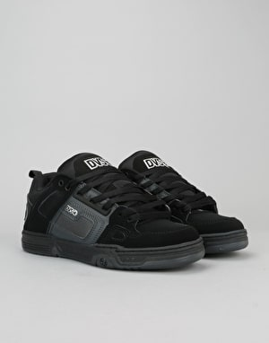 DVS Comanche Skate Shoes - Black/Grey/Black
