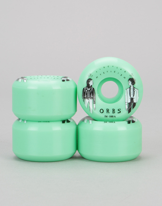 Welcome Orbs Fantasam Side Cuts 100A Non-Cored Team Wheel - 54mm