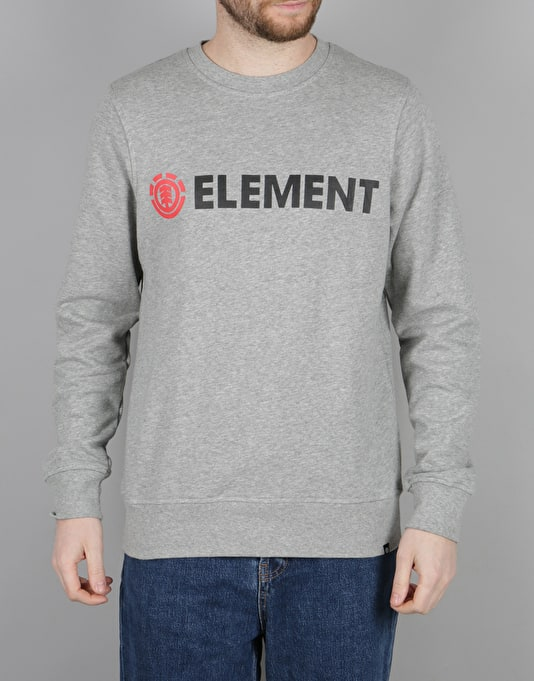 Element Horizontal Crew - Grey Heather