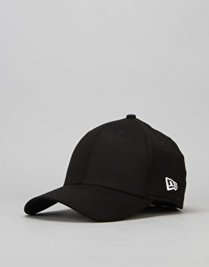 New Era 39Thirty Flag Collection Cap - Black/White