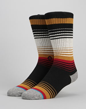 Stance Sheepshank Athletic Crew Socks - Black