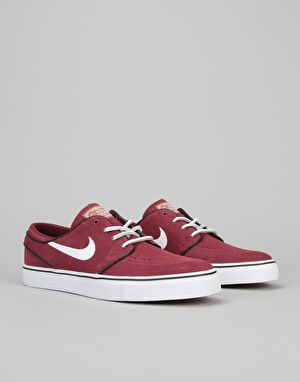 Nike SB Stefan Janoski OG Skate Shoes - Earth Red/White-Black-Gum Brn