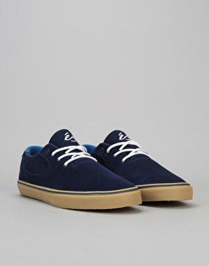 éS Accel Sq Skate Shoe - Navy/Gum/White