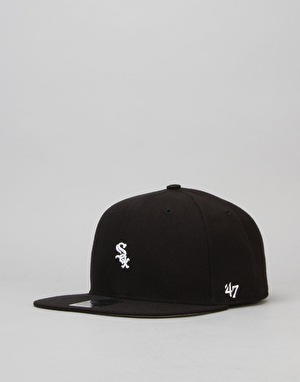 '47 Brand MLB Boston White Sox Centerfield Snapback Cap - Black