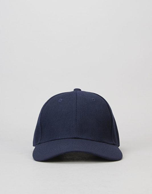 Route One Blank Baseball Cap - Navy