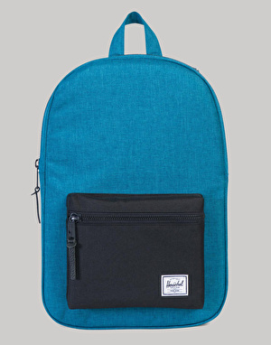 Herschel Supply Co. Settlement Mid Volume Backpack - Petrol Crosshatch