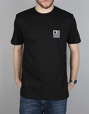 Carhartt S/S State Mountain Top T-Shirt - Black