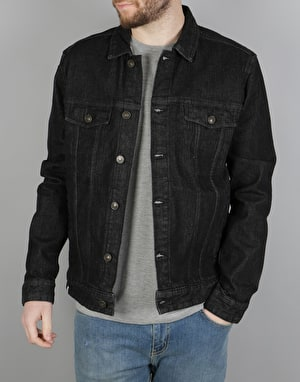 Altamont Ryder Denim Jacket - Black