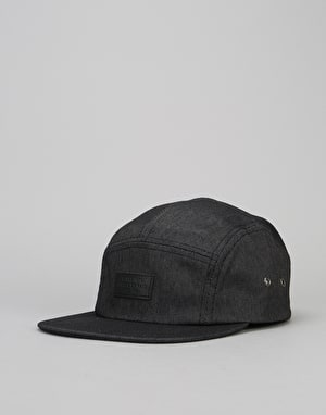 Globe Punt 5 Panel Cap - Athletic Black