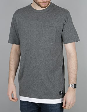 DC Conover S/S T-Shirt - Charcoal