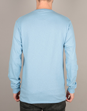 Primitive Eyes L/S T-Shirt - Powder Blue