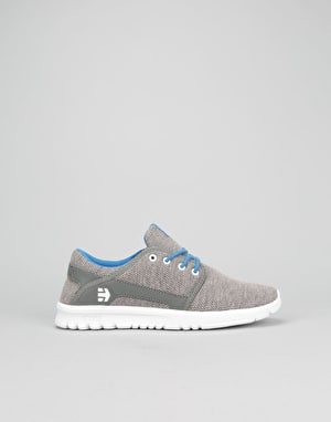 Etnies Scout Boys Skate Shoes - Grey/Grey/Blue