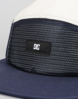 DC Blockhead 5 Panel Cap - Summer Blues