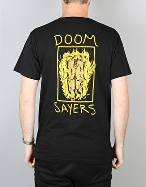 Doom Sayers Snake Anatomy T-Shirt - Black