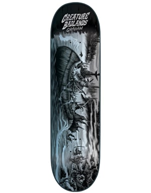 Creature Graham Back to the Badlands Pro Deck - 9.125