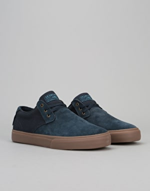 Lakai Daly (MJ) Skate Shoes - Navy/Gum Suede