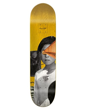 Chocolate Perez Dru Collage Pro Deck - 8.25