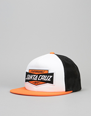 Santa Cruz Tread Trucker Cap - Black/Rust