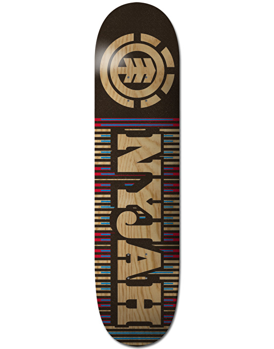 Element Nyjah First Phase Featherlight Skateboard Deck - 8""