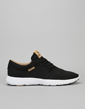 Supra Hammer Run Shoes - Black/Tan-White