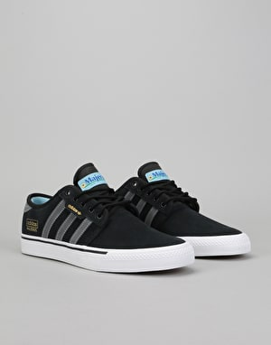 Adidas Seeley OG ADV Skate Shoes - Black/Dgh Solid Grey/Ftwr White