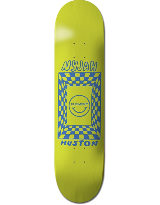 Element Nyjah Black Light Featherlight Pro Deck - 8""