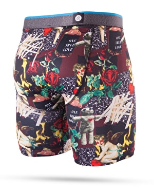 Stance One True Love Poly Blend Boxer Shorts - Black