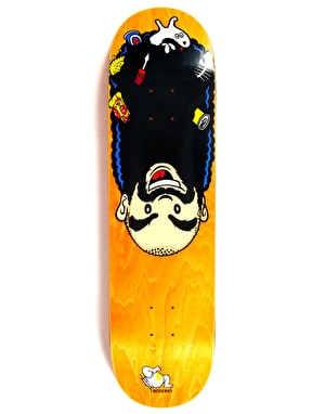 Polar Boserio Upside Down Skateboard Deck - 8.75