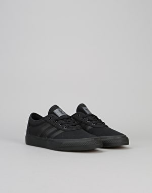 Adidas Adi-Ease Boys Skate Shoes - Core Black/Core Black/Core Black