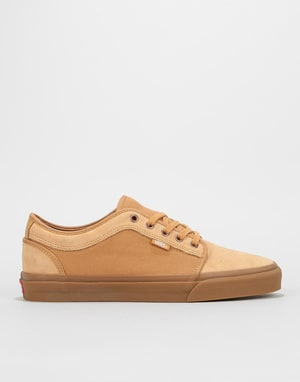 Vans Chukka Low Pro Skate Shoes - Medal Bronze/Gum
