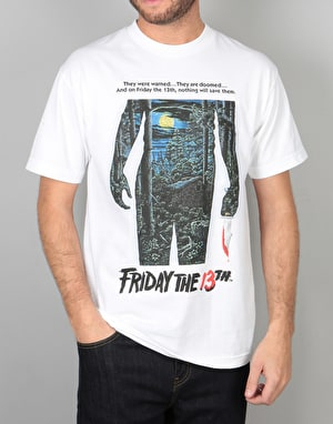 The Hundreds x Friday The 13th Poster T-Shirt - White