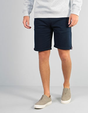Route One Premium Chino Shorts - Navy