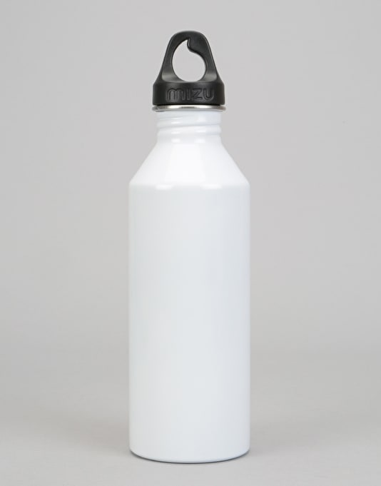 MIZU M8 800ml/27oz Water Bottle - Glossy White