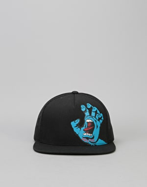 Santa Cruz Screaming Hand Mesh Cap - Black