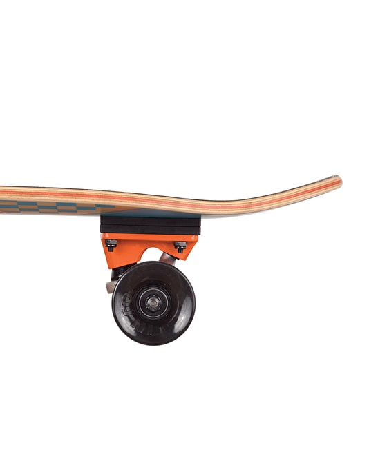 "Santa Cruz Check Stripe Jammer Cruiser - 7.4"" x 29.1"""