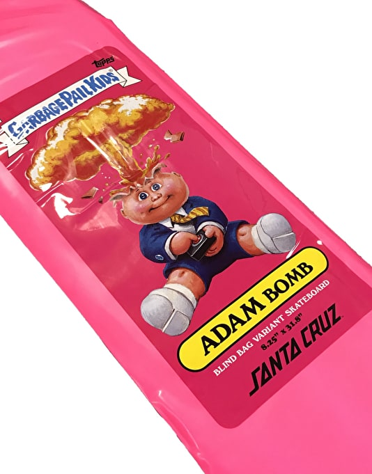 Santa Cruz x Garbage Pail Kids Blind Bag Deck - 8.25""