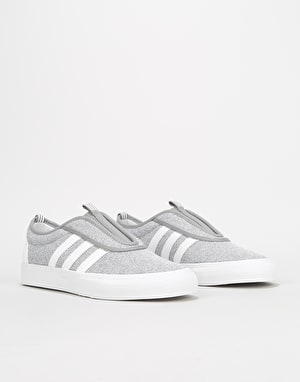 Adidas Adi-Ease Kung-Fu Skate Shoes - Solid Grey/White/White