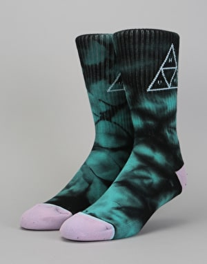 HUF Washed Triple Triangle Socks - Jade