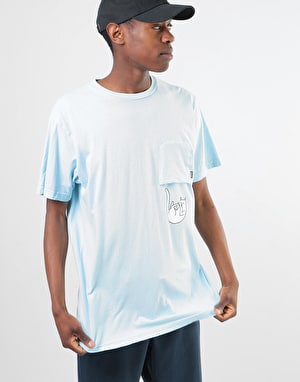RIPNDIP Falling For Nermal Pocket T-Shirt - Baby Blue