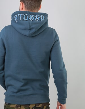 Stüssy Wes Applique Pullover Hoodie - Ink